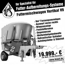 Futtermischwagen Vertikal V9